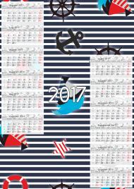 Kalendarz 2017 wzór 13 + Twoje zdjęcia