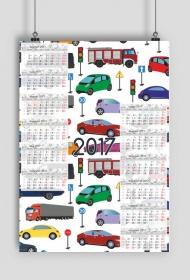 Kalendarz 2017 wzór 16 + Twoje zdjęcia