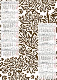 Kalendarz 2017 wzór 18 + Twoje zdjęcia
