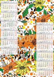 Kalendarz 2017 wzór 21 + Twoje zdjęcia