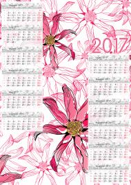 Kalendarz 2017 wzór 22 + Twoje zdjęcia