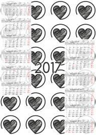 Kalendarz 2017 wzór 28 + Twoje zdjęcia