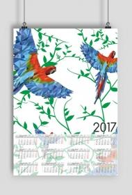 Kalendarz 2017 wzór 32 + Twoje zdjęcia