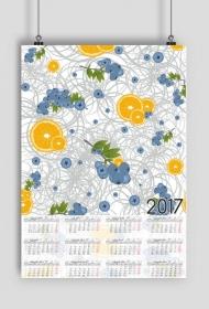 Kalendarz 2017 wzór 41 + Twoje zdjęcia