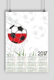 Kalendarz 2017 wzór 42 + Twoje zdjęcia