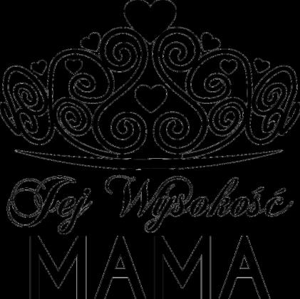 Poszewka/Poduszka na Dzień Mamy Jej Wysokość Mama