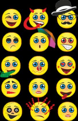 Torba z nadrukiem emotikon