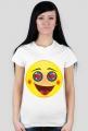 Koszulka z nadrukiem emotikon