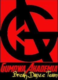 Bluza GUMOWA AKADEMIA Break Dance Team biała/szara/czarna, damska, logo kolor