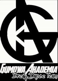Bluza GUMOWA AKADEMIA Break Dance Team czarna, damska, logo białe