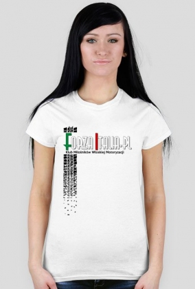 Koszulka damska Forza biała