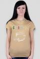 Koszulka damska Giulia kolor