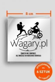 vVagary.pl - naklejka Świata nie zmienisz