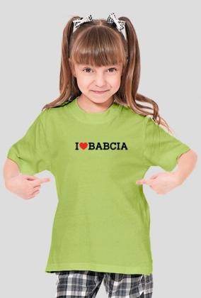 I LOVE BABCIA GIRL