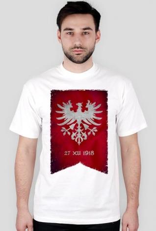 Koszulka z flagą Powstania Wielkopolskiego