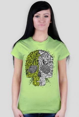 Koszulka Czaszka o dwóch twarzach