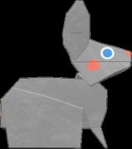 Koszulka Zajączek Origami