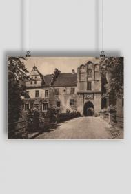 Plakat: reprodukcja przedwojennej pocztówki