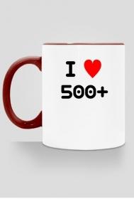 I love 500+ kubek