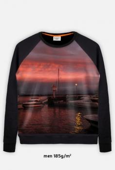 Sunset Bluza FullPrint męska