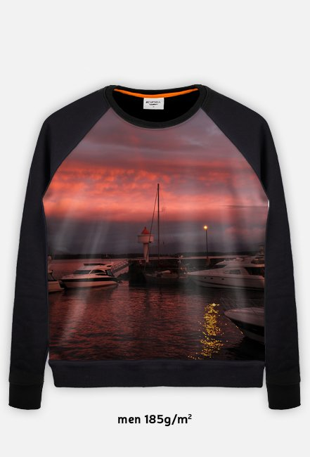 Sunset Bluza FullPrint męska