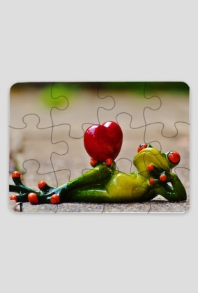 Puzzle - Oddaję Ci serce