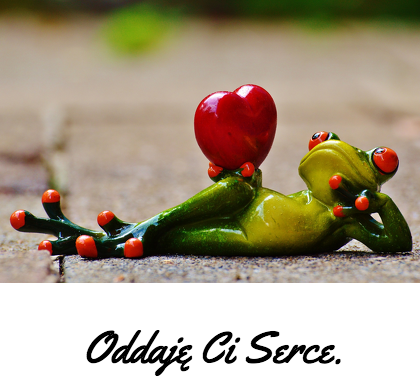 Kubek - Oddaję Ci serce