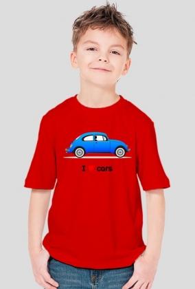 I love cars koszulka