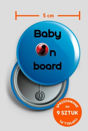 Wpinka Baby on board