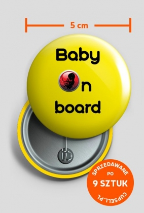 Wpinka Baby on board