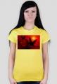 Koszulka dla Niej - Serce Gołąbki