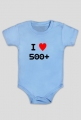 I love 500+  body