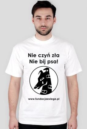 Koszulka Nie czyń zła, nie bij psa