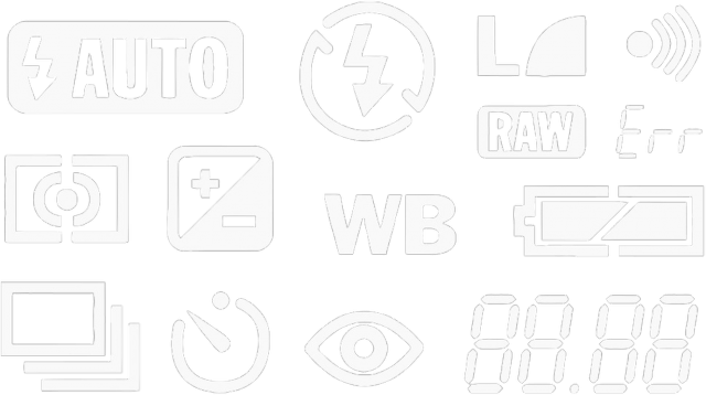 DSLR Fotograf symbole