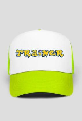Trainer (żółty) - Czapka Pokemon Go