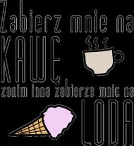 "Sztabka zabawna koszulka ""kawa"""