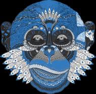 sztabka koszulka damska małpa
