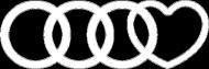 'Audi heart' koszulka damska