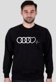 'Audi heart puls' bluza męska,bez kaptura