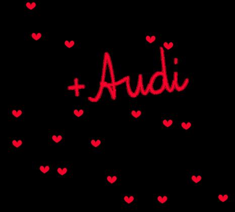 'Ty+Ja+Audi' poszewka,bez wypełnienia