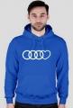 'Audi heart' bluza męska,kaptur
