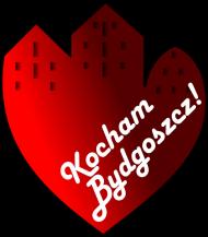 Kocham Bydgoszcz - KUBEK SERCE