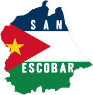 Koszulka mapa San Escobar męska