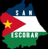 Kubek z mapą San Escobar