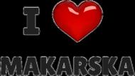 Kubek - I love Makarska