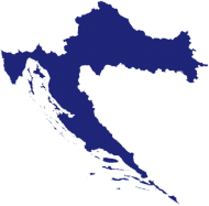 Mapa Chorwacji