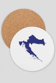 Podkładka - mapa Chorwacji