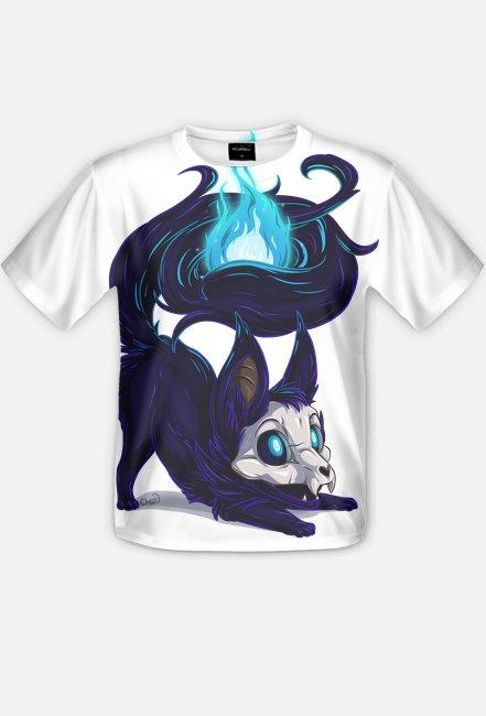 Lisek duszek - koszulka fullprint męska