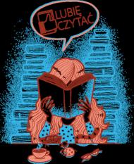 Lubie czytać koszulka