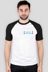 Koszulka męska- Opetany czytaniem